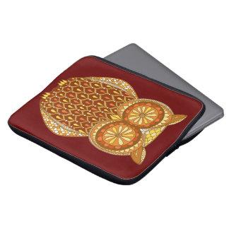 Cute Retro Owl Laptop Sleeve