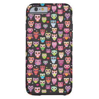 Cute retro owl pattern iPhone 6 case