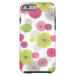 Cute retro tree flower pattern design iPhone 6 cas Tough iPhone 6 Case
