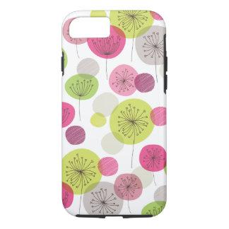 Cute retro tree flower pattern design iPhone 7 cas iPhone 7 Case