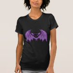Cute Rhinestone Bat T Shirt