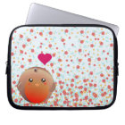 Cute Robin Bird Laptop Sleeve