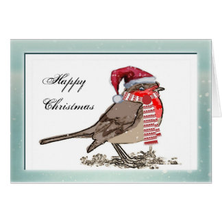 Cute Robin Red Breast Company Christmas Cards
