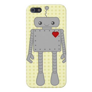 Cute Robot IPhone Case iPhone 5/5S Case