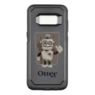 Cute Robot OtterBox Commuter Samsung Galaxy S8 Case