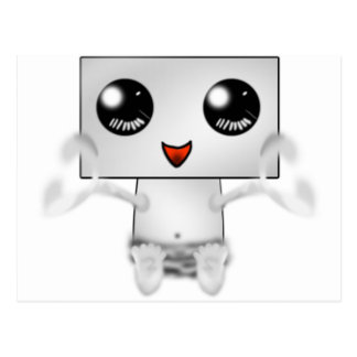 Cute Robot Postcard