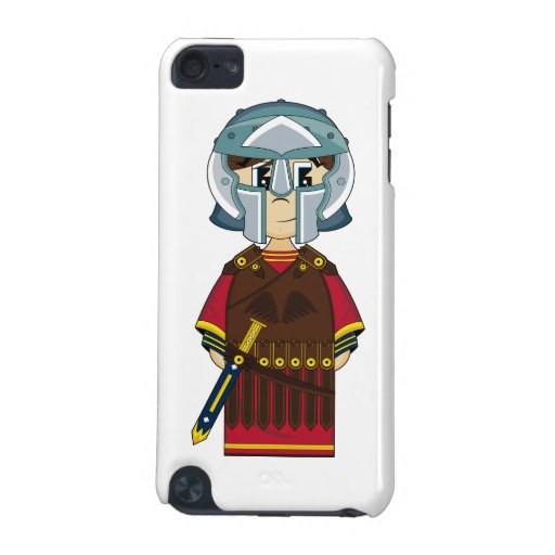 Cute Roman Gladiator itouch Case iPod Touch (5th Generation) Cases