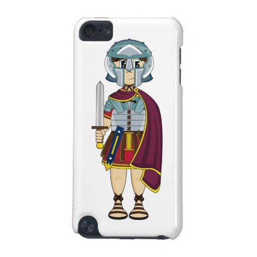 Cute Roman Gladiator itouch Case iPod Touch (5th Generation) Covers
