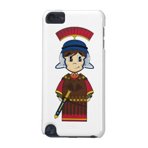 Cute Roman Soldier itouch Case iPod Touch (5th Generation) Covers