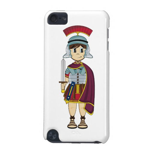 Cute Roman Soldier itouch Case iPod Touch (5th Generation) Cover