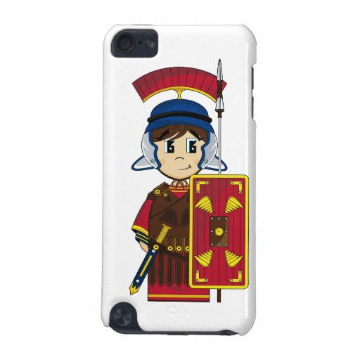 Cute Roman Soldier itouch Case iPod Touch 5G Case