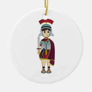 Cute Roman Soldier Ornament