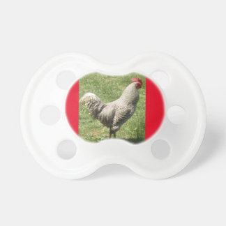 Cute  ROOSTER PACIFIER