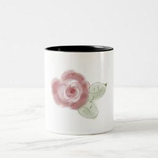 Cute rose mug