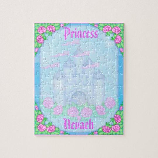 Cute Royal Princess Castle Customisable Puzzle