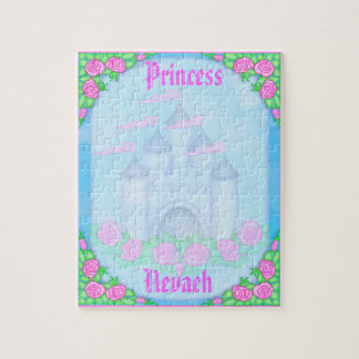 Cute Royal Princess Castle Customizable Puzzle