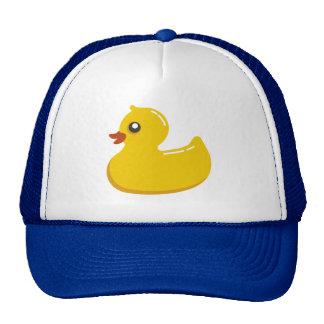 Cute Rubber Ducky/Blue Bubbles Mesh Hat