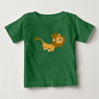 Cute Running Cartoon Lion Baby T-Shirt