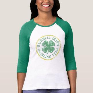 Cute Russell Irish Drinking Team St Patrick's Day T-Shirt