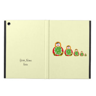 cute Russian nesting dolls Cover For iPad Air