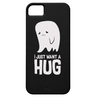 Cute Sad Ghost Just Want a Hug iPhone 5 Cover