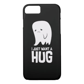 Cute Sad Ghost Just Want a Hug iPhone 8/7 Case