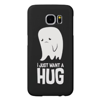 Cute Sad Ghost Just Want a Hug Samsung Galaxy S6 Cases