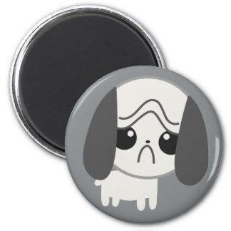 Cute Sad Pug Puppy Refrigerator Magnet