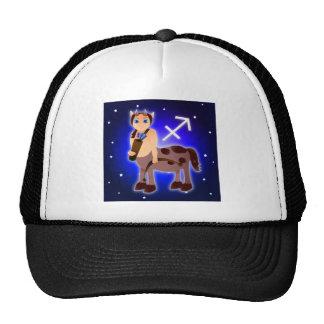 Cute Sagittarius Zodiac Trucker Hats