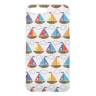 Cute Sailboat Pattern 2 iPhone 7 Plus Case