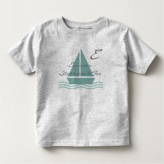 Cute Sailor Sailboat  Emma's Statement T-shirt