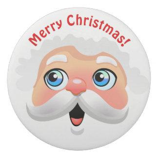 Cute Santa Claus Cartoon Eraser