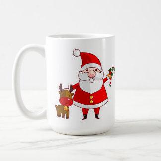 Cute Santa Claus Christmas Coffee Mug