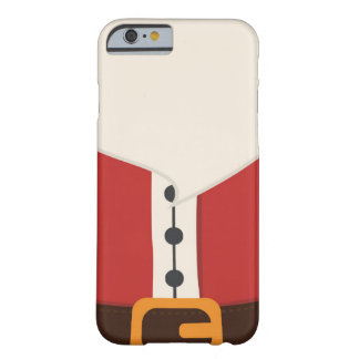 Cute Santa Claus Costume iPhone 6/6s Case