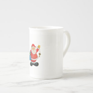 Cute Santa Claus Father Christmas Kris Kringle Tea Cup