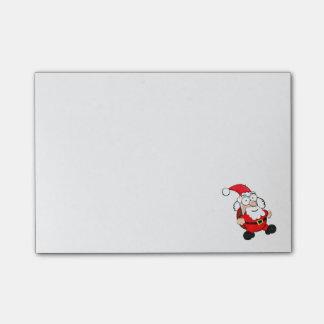 Cute Santa Post-it® Notes 4 x 3