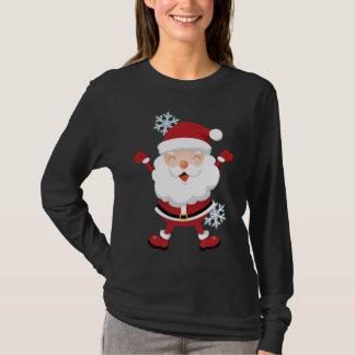 Cute Santa Shirt - Teens & Womens sizes