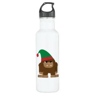 Cute Sasquatch Christmas Elf 710 Ml Water Bottle