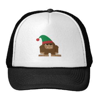 Cute Sasquatch Christmas Elf Hat