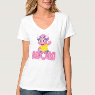 Cute Savannah Dino Cartoon Gift for Mom - T-Shirt