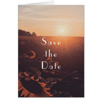 cute save the date card