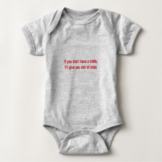 Cute saying one piece suit multiple colors baby bodysuit