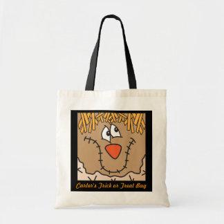 Cute Scarecrow Trick or Treat Bag Canvas Bag