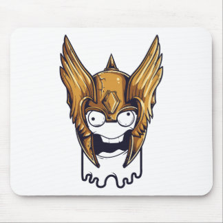 cute scary design mouse pad