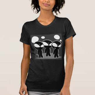 Cute Scheming Aliens T-Shirt