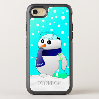 Cute Science Snowman Otterbox OtterBox Symmetry iPhone 8/7 Case