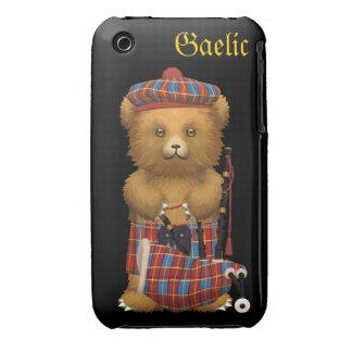 Cute Scot Teddy Bear - Gaelic iPhone 3 Case