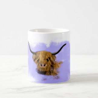 Cute Scottish Highland Cow Mug