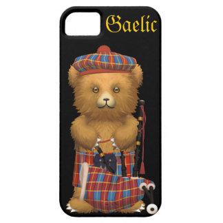 Cute Scottish Teddy Bear - Gaelic iPhone 5 Case