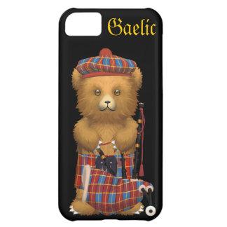 Cute Scottish Teddy Bear - Gaelic Case For iPhone 5C